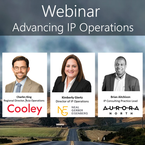 Webinar — IP Operations (Focus on: Technology)