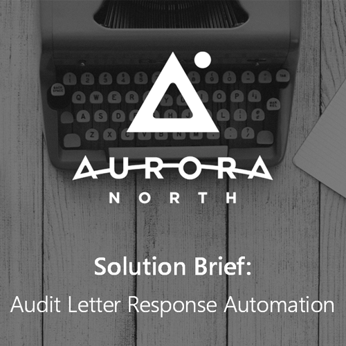 Solution Brief — Audit Letter Workflow Automation